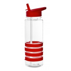 Red The San Clemente Gripper Water Bottles