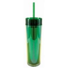 Green Slender Sip Tumblers | 16 oz