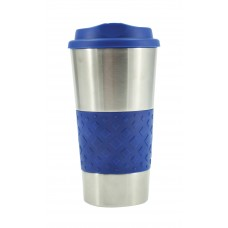 Royal Blue Grip N Go Stainless Tumblers | 16 oz