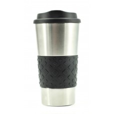 Black Grip N Go Stainless Tumblers | 16 oz