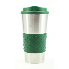 Hunter Green Grip N Go Stainless Tumblers | 16 oz