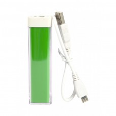 Green Custom Logo Power Bank Bar