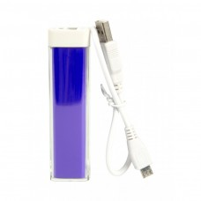 Purple Custom Logo Power Bank Bar