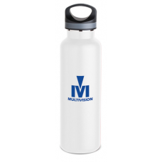 White 20 oz Tundra Vacuum Insulated Bottles